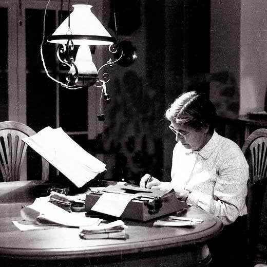 La lexicógrafa María Moliner