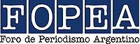 Logo del  Foro de Periodismo Argentino