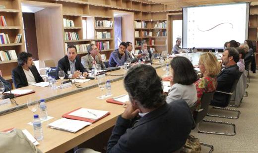 Comunicadores de España y América Latina en una de las jornadas