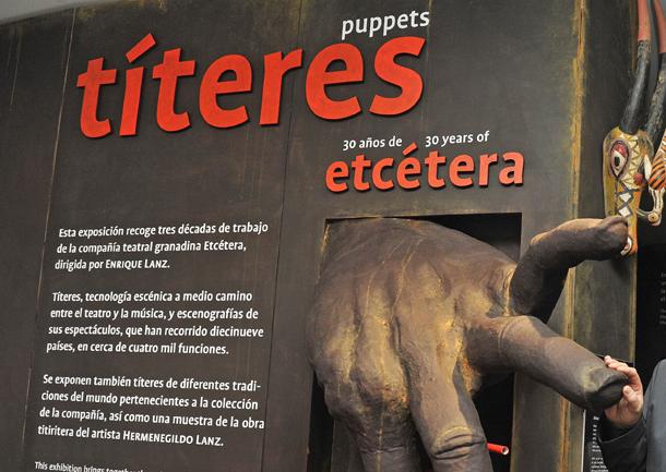 La compañía Etcétera celebra su treinta aniversario en el  Parque de las Ciencias de Granada (Andalucía, 8/6/2012)