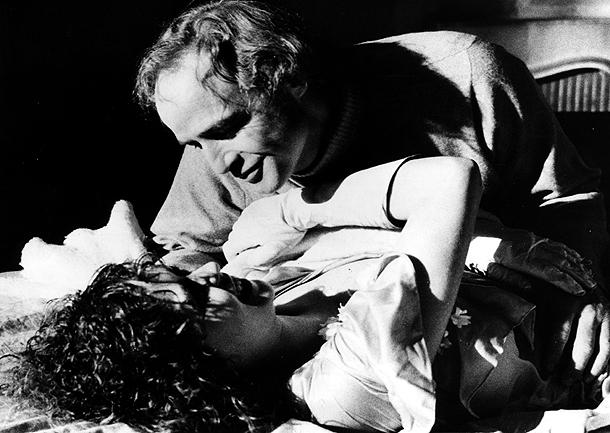 Una secuencia de la película «El último tango en París» de Bernardo Bertolucci (París, 28/10/1972).