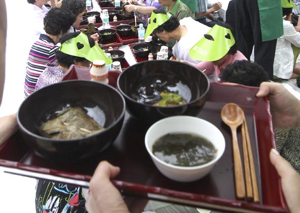 Comida vegana en Seúl (Corea del Sur, 2011)