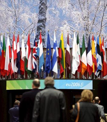Banderas de países de la Unión Europea