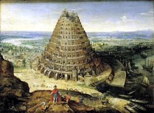 Torre de Babel (1594), de Lucas van Volkenborth.