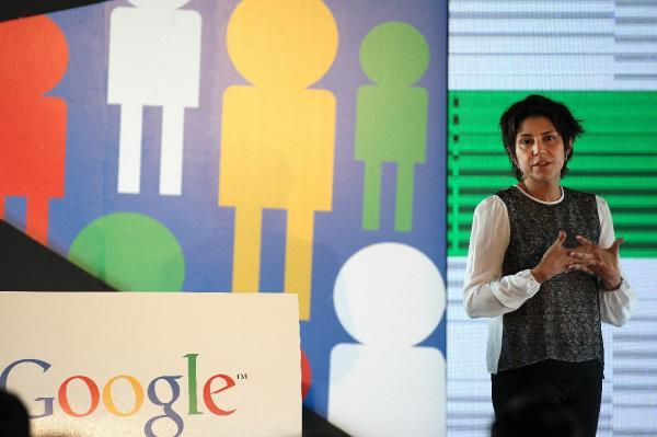 La directora general de Google Hispanoamérica, Adriana Noreña. Foto: © EFE/ Alex Cruz