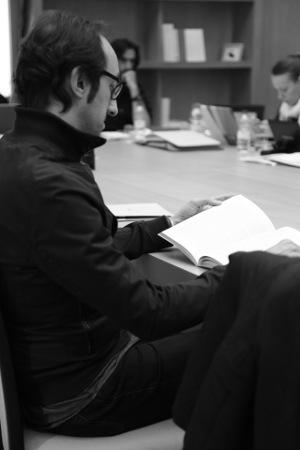 Agustín Fernández Mallo, durante el Seminario.Foto: ©Judith González
