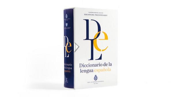 ESPASA Cubierta del Diccionario de la lengua española que se publicará el próximo 21 de octubre