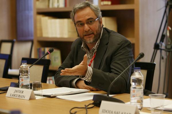 Javier Lascurain en el IX Seminario Internacional de Lengua y Periodismo «El español del futuro en el periodismo». Foto: ©Judith González