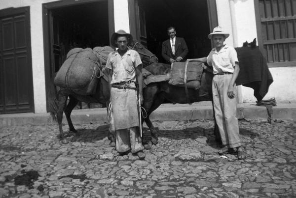 Fotografía facilitada por el Instituto Cervantes que forma parte de la exposición «Palabras de maíz y café».