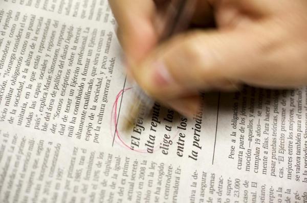 El prestigio está ligado a la calidad de la redacción. MARGA FERRER