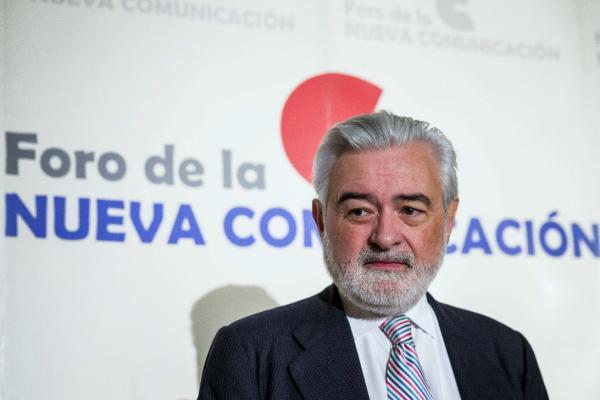 Darío Villanueva, momentos antes de su intervención. Foto: ©Agencia Efe/Emilio Naranjo