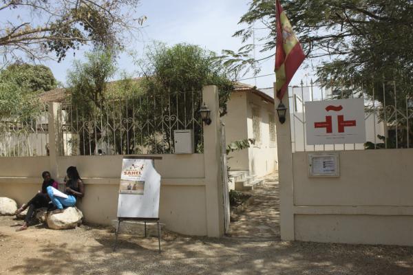 Vista del Aula Cervantes de Dakar, abierto en 2010. Foto: ©Agencia Efe