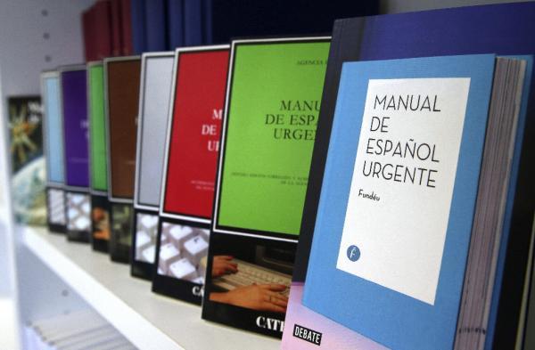 Nueva edición del «Manual de español urgente» renovada y adaptada a los nuevos tiempos y a las novedades normativas. Foto:©EFE/Angel Díaz