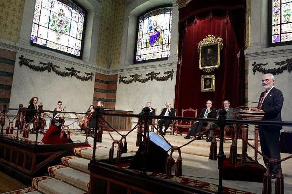 Acto de presentación del de la versión digital de la 23.ª edición del Diccionario. Foto: ©RAE