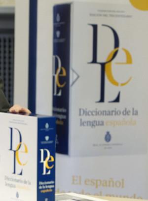 Portada del Diccionario. Foto: ©Archivo Efe/Javier Belver