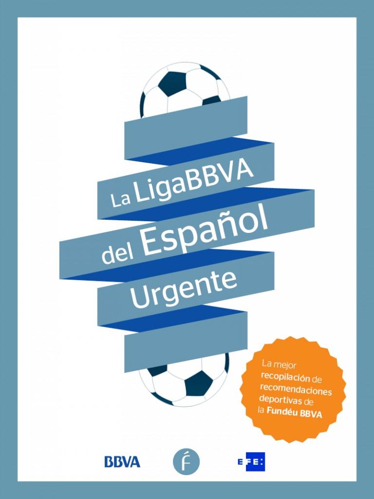 Portada del libro de la Liga BBVA del Español Urgente