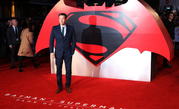 Batman V Superman: Dawn of Justice - European film premiere, Leicester Square, London UK, 22 March 2016, Photo by Richard Goldschmidt