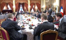 Reunión de crisis sobre Libia en París (Francia)