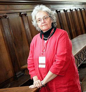 Soledad Gallego-Díaz, durante el seminario.  Foto: © Agencia Efe/Abel Alonso