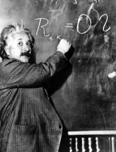 Albert Einstein en Pasadena en 1931. / AP