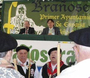 Acto de Exaltación del Fuero de Brañosera. Foto:  Agencia Efe/A.Alvarez