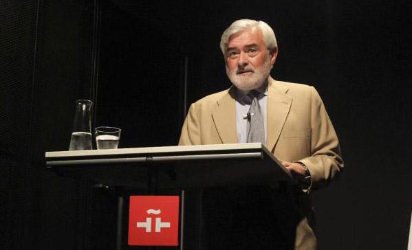 Darío Villanueva, secretario general de la Real Academia Española (RAE).  Foto: ©Efe/Instituto Cervantes
