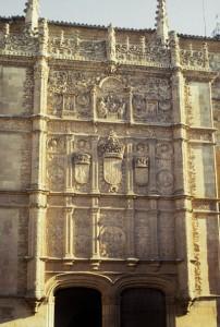 Fachada principal de la Universidad de Salamanca. Foto: ©Agencia Efe