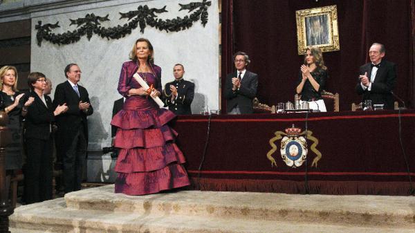 La princesa Letizia  preside el acto. Foto: ©Efe/Ballesteros