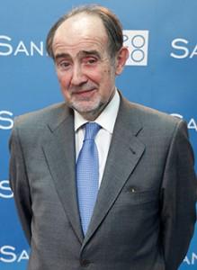 El presidente de la Academia de Medicina, Joaquín Poch.