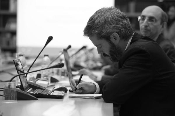 Antonio Fraguas, durante el Seminario. Foto: ©Judith González
