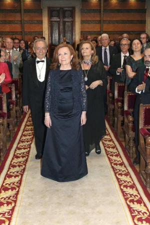 Aurora Egido en la Real Academia Española. Foto: ©Efe/RAE