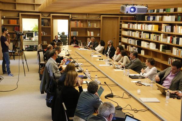 Ultima sesión del Seminario celebrado en la biblioteca de Cilengua. Foto: ©Judith González