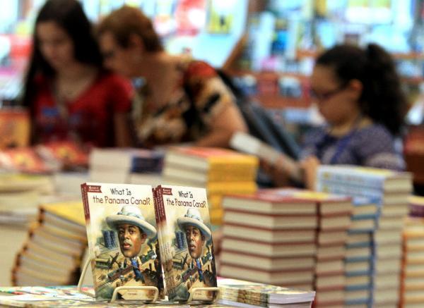 Feria Internacional del Libro (FIL) de Panamá 2014, en Ciudad de Panamá.  Foto: ©EFE/Alejandro Bolívar