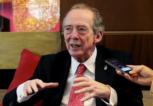 José Manuel Blecua, durante una entrevista con Efe, en Bogotá (Colombia) Foto: ©EFE/LEONARDO MUÑOZ