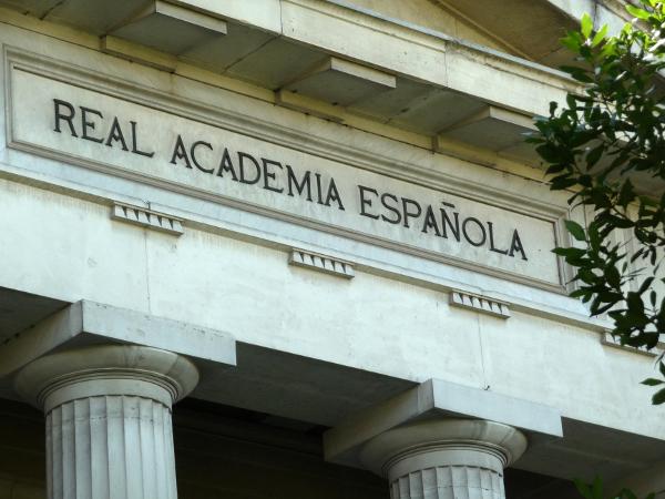 Sede de la Real Academia Española. Foto:©Agencia Efe/Paco Torrente