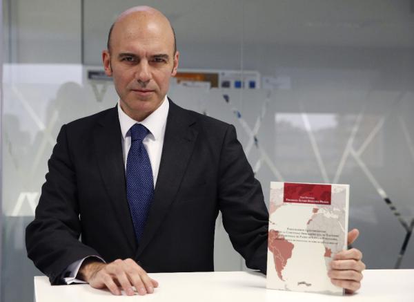 Frigdiano Álvaro Durántez Prados, durante su entrevista con Efe. ©EFE/Juan Carlos Hidalgo
