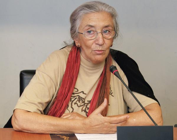 Clara Janés, presidenta del jurado del XXII Premio Internacional de Poesía «San Juan de la Cruz» en el año 2011. ©Efe/Raúl Sanchidrián