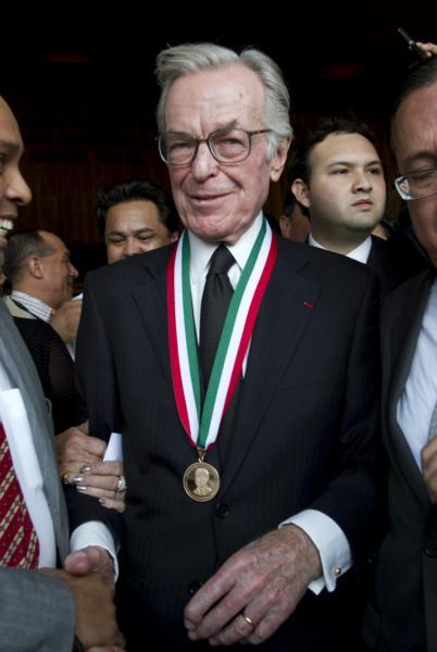 Fotografía de archivo del 29 de abril del 2013 del periodista mexicano Jacobo Zabludovsky.  ©Efe/Mario Guzmán