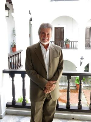 El director de la Academia Puertorriqueña de la Lengua Española, José Luis Vega. EFE/Alfonso Rodríguez