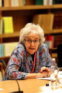 La periodista Soledad Gallego-Díaz durante la inauguración del seminario.